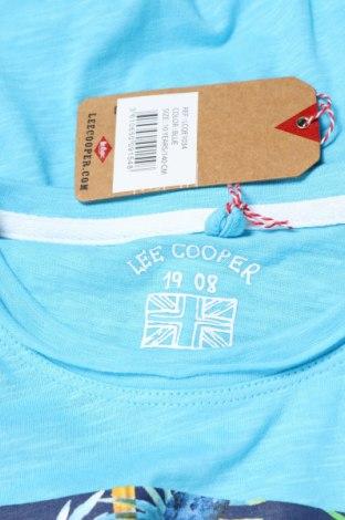 Παιδικό μπλουζάκι Lee Cooper, Μέγεθος 9-10y/ 140-146 εκ., Χρώμα Μπλέ, Βαμβάκι, Τιμή 7,65€