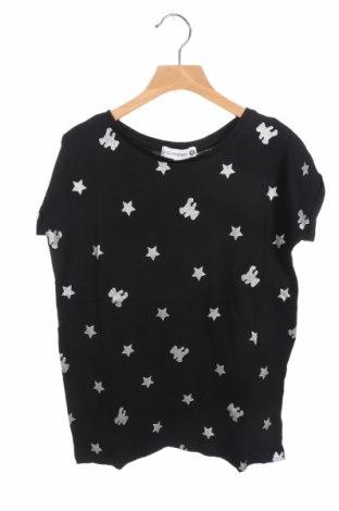 Παιδικό μπλουζάκι Lulu Castagnette, Μέγεθος 11-12y/ 152-158 εκ., Χρώμα Μαύρο, 100% βαμβάκι, Τιμή 6,60€