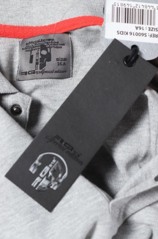 Παιδικό μπλουζάκι RG 512, Μέγεθος 15-18y/ 170-176 εκ., Χρώμα Γκρί, Βαμβάκι, Τιμή 7,92€