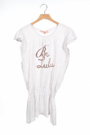 Детска туника Lulu Castagnette, Размер 13-14y/ 164-168 см, Цвят Бял, 95% памук, 5% вискоза, Цена 31,50лв.