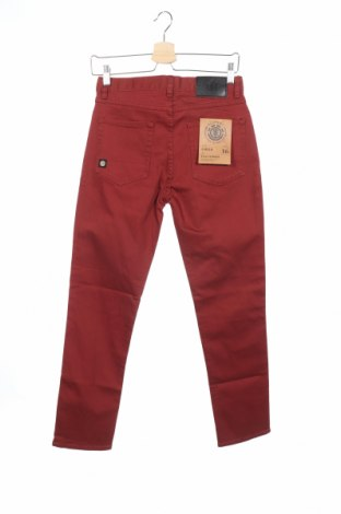 Παιδικά τζίν Element, Μέγεθος 15-18y/ 170-176 εκ., Χρώμα Κόκκινο, 98% βαμβάκι, 2% ελαστάνη, Τιμή 9,96€