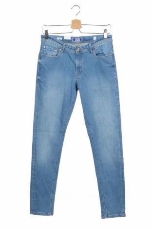 Детски дънки Jack & Jones, Размер 15-18y/ 170-176 см, Цвят Син, 91% памук, 7% полиестер, 2% еластан, Цена 24,01лв.