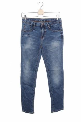 Παιδικά τζίν Zara Kids, Μέγεθος 11-12y/ 152-158 εκ., Χρώμα Μπλέ, 99% βαμβάκι, 1% ελαστάνη, Τιμή 16,58€