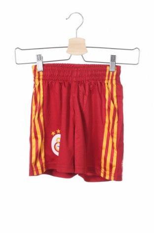 Παιδικό κοντό παντελόνι Adidas, Μέγεθος 7-8y/ 128-134 εκ., Χρώμα Κόκκινο, Πολυεστέρας, Τιμή 10,86€