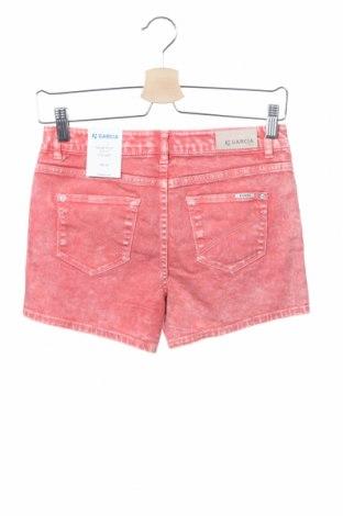Παιδικό κοντό παντελόνι Garcia, Μέγεθος 13-14y/ 164-168 εκ., Χρώμα Ρόζ , 97% βαμβάκι, 3% ελαστάνη, Τιμή 10,05€