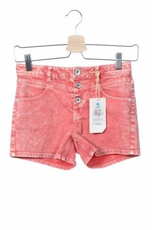 Παιδικό κοντό παντελόνι Garcia, Μέγεθος 11-12y/ 152-158 εκ., Χρώμα Ρόζ , 97% βαμβάκι, 3% ελαστάνη, Τιμή 10,05€