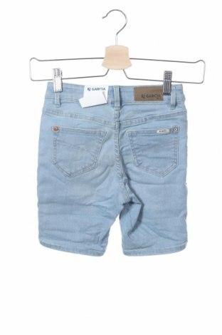 Παιδικό κοντό παντελόνι Garcia Jeans, Μέγεθος 7-8y/ 128-134 εκ., Χρώμα Μπλέ, 92% βαμβάκι, 6% πολυεστέρας, 2% ελαστάνη, Τιμή 8,77€