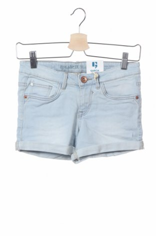 Παιδικό κοντό παντελόνι Garcia Jeans, Μέγεθος 12-13y/ 158-164 εκ., Χρώμα Μπλέ, 92% βαμβάκι, 6% πολυεστέρας, 2% ελαστάνη, Τιμή 8,77€