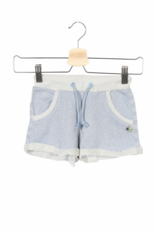 Παιδικό κοντό παντελόνι Silvian Heach, Μέγεθος 5-6y/ 116-122 εκ., Χρώμα Μπλέ, 68% βαμβάκι, 32% μεταλλικά νήματα, Τιμή 17,79€