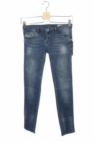 Παιδικό παντελόνι Diesel, Μέγεθος 12-13y/ 158-164 εκ., Χρώμα Μπλέ, 98% βαμβάκι, 2% ελαστάνη, Τιμή 14,75€