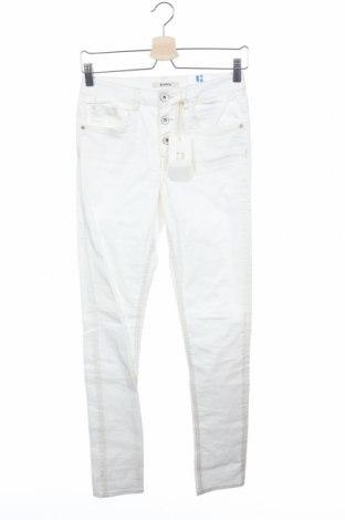 Παιδικό παντελόνι Garcia, Μέγεθος 14-15y/ 168-170 εκ., Χρώμα Λευκό, 97% βαμβάκι, 3% ελαστάνη, Τιμή 9,38€