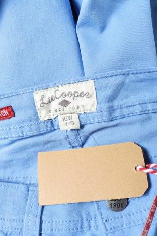 Παιδικό παντελόνι Lee Cooper, Μέγεθος 15-18y/ 170-176 εκ., Χρώμα Μπλέ, 73% βαμβάκι, 24% πολυεστέρας, 3% ελαστάνη, Τιμή 7,60€