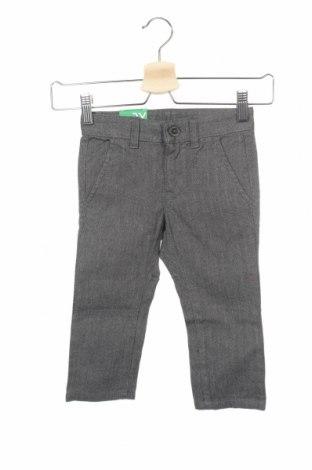 Παιδικό παντελόνι United Colors Of Benetton, Μέγεθος 2-3y/ 98-104 εκ., Χρώμα Γκρί, Βαμβάκι, Τιμή 7,58€