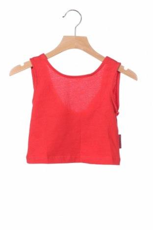 Μπλουζάκι αμάνικο παιδικό Agatha Ruiz De La Prada, Μέγεθος 3-4y/ 104-110 εκ., Χρώμα Κόκκινο, Βαμβάκι, Τιμή 5,77€