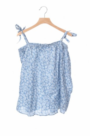 Μπλουζάκι αμάνικο παιδικό Lulu Castagnette, Μέγεθος 13-14y/ 164-168 εκ., Χρώμα Μπλέ, Βαμβάκι, Τιμή 5,98€