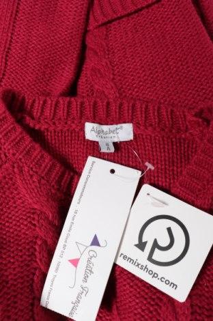 Παιδικό πουλόβερ Alphabet, Μέγεθος 7-8y/ 128-134 εκ., Χρώμα Ρόζ , Ακρυλικό, Τιμή 6,32€