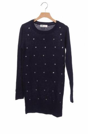 Παιδικό πουλόβερ H&M, Μέγεθος 10-11y/ 146-152 εκ., Χρώμα Μπλέ, Ακρυλικό, Τιμή 14,81€