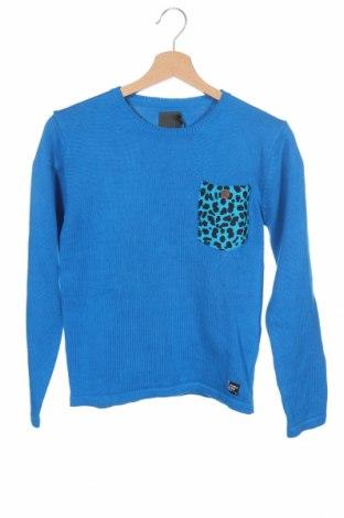 Παιδικό πουλόβερ Jeff, Μέγεθος 12-13y/ 158-164 εκ., Χρώμα Μπλέ, Βαμβάκι, Τιμή 20,98€