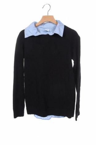 Παιδικό πουλόβερ Lindex, Μέγεθος 10-11y/ 146-152 εκ., Χρώμα Μαύρο, 75% βαμβάκι, 25% πολυαμίδη, Τιμή 12,96€