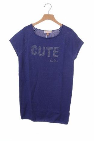 Παιδικό πουλόβερ Lulu Castagnette, Μέγεθος 13-14y/ 164-168 εκ., Χρώμα Βιολετί, 55% βαμβάκι, 45%ακρυλικό, Τιμή 5,93€