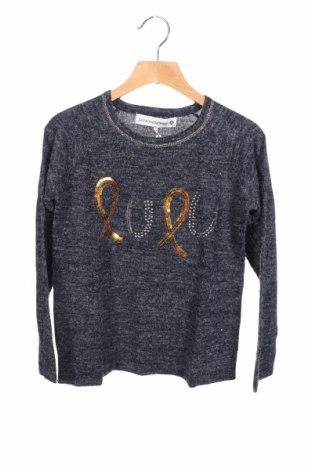 Παιδικό πουλόβερ Lulu Castagnette, Μέγεθος 8-9y/ 134-140 εκ., Χρώμα Γκρί, 80%ακρυλικό, 20% πολυαμίδη, Τιμή 12,16€