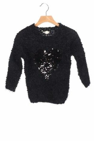 Παιδικό πουλόβερ Mini Molly, Μέγεθος 4-5y/ 110-116 εκ., Χρώμα Μαύρο, Πολυεστέρας, Τιμή 22,81€