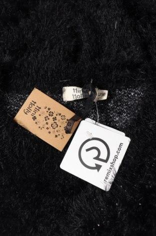 Παιδικό πουλόβερ Mini Molly, Μέγεθος 12-13y/ 158-164 εκ., Χρώμα Μαύρο, 70% πολυαμίδη, 30%ακρυλικό, Τιμή 6,19€