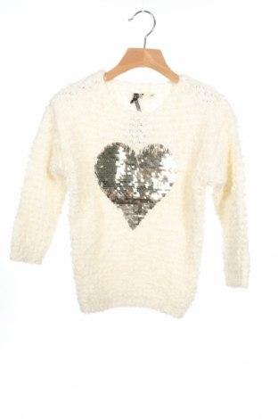 Παιδικό πουλόβερ Mini Molly, Μέγεθος 4-5y/ 110-116 εκ., Χρώμα Εκρού, Πολυεστέρας, Τιμή 12,16€