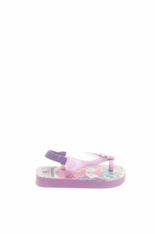 Παιδικά σανδάλια Brasileras, Μέγεθος 21, Χρώμα Βιολετί, Πολυουρεθάνης, κλωστοϋφαντουργικά προϊόντα, Τιμή 4,62€