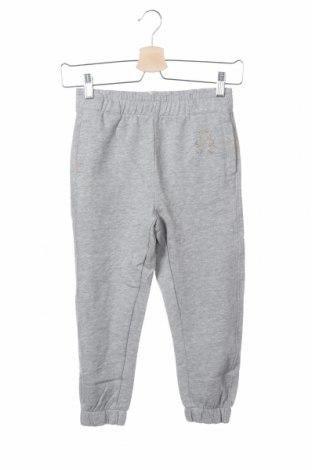 Pantaloni de trening, pentru copii Lulu Castagnette, Mărime 7-8y/ 128-134 cm, Culoare Gri, 90% bumbac, 10% viscoză, Preț 39,34 Lei