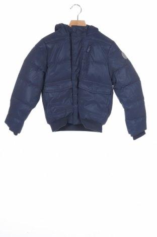 Geacă pentru copii Okaidi, Mărime 7-8y/ 128-134 cm, Culoare Albastru, Poliester, Preț 105,39 Lei