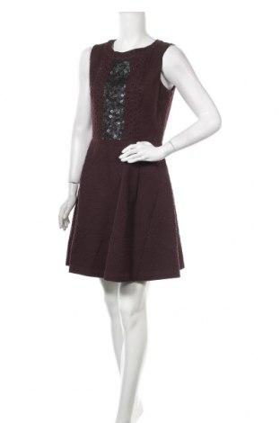 Кожена рокля Sinequanone, Размер L, Цвят Червен, 75% памук, 25% вълна, Цена 36,12лв.