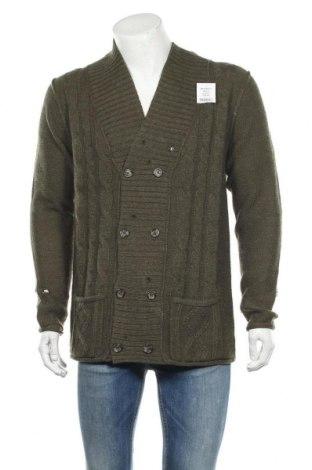 Мъжка жилетка Alcott, Размер XL, Цвят Зелен, 85% акрил, 15% вълна, Цена 31,20лв.