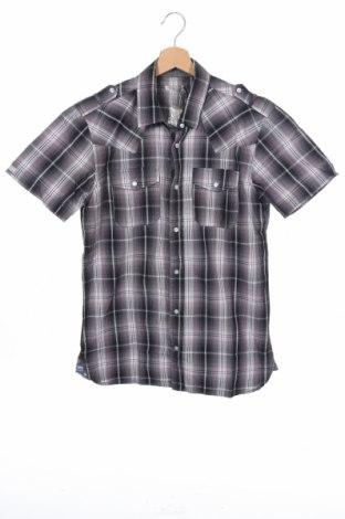 Мъжка риза Best Mountain, Размер S, Цвят Сив, Памук, Цена 13,00лв.