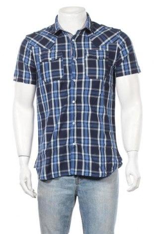 Ανδρικό πουκάμισο Best Mountain, Μέγεθος S, Χρώμα Μπλέ, Βαμβάκι, Τιμή 6,70€