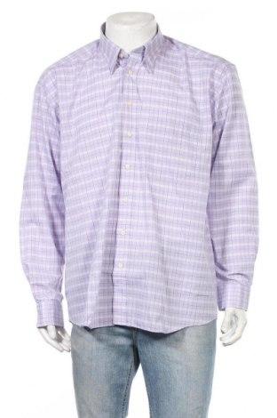 Ανδρικό πουκάμισο Club D'amingo, Μέγεθος XL, Χρώμα Βιολετί, 65% πολυεστέρας, 35% βαμβάκι, Τιμή 13,64€