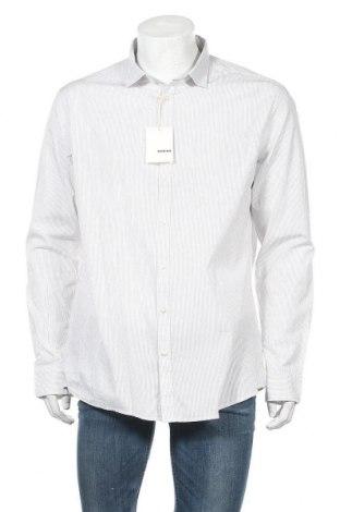 Ανδρικό πουκάμισο Rodier, Μέγεθος XXL, Χρώμα Λευκό, Βαμβάκι, Τιμή 20,65€