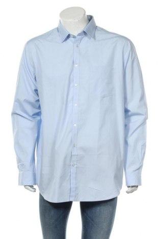 Ανδρικό πουκάμισο Rodier, Μέγεθος XXL, Χρώμα Μπλέ, Βαμβάκι, Τιμή 22,27€