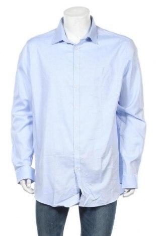 Ανδρικό πουκάμισο Rodier, Μέγεθος XXL, Χρώμα Μπλέ, Τιμή 24,16€