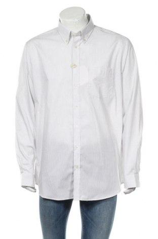 Ανδρικό πουκάμισο Rodier, Μέγεθος XXL, Χρώμα Λευκό, Βαμβάκι, Τιμή 24,16€