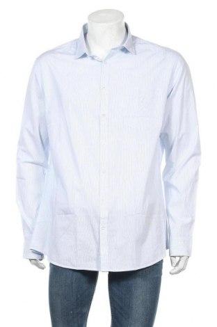 Ανδρικό πουκάμισο Rodier, Μέγεθος XXL, Χρώμα Μπλέ, Βαμβάκι, Τιμή 20,65€