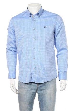 Мъжка риза Sir Raymond Tailor, Размер M, Цвят Син, Памук, Цена 24,92лв.