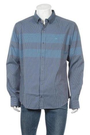 Ανδρικό πουκάμισο Tbs, Μέγεθος XL, Χρώμα Μπλέ, Βαμβάκι, Τιμή 16,06€