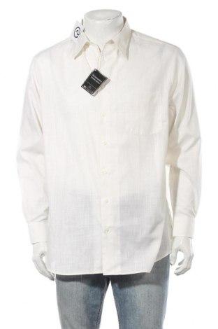 Ανδρικό πουκάμισο Walbusch, Μέγεθος L, Χρώμα Εκρού, Βαμβάκι, Τιμή 12,25€