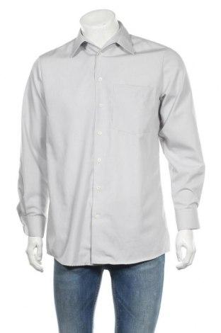 Ανδρικό πουκάμισο Walbusch, Μέγεθος M, Χρώμα Γκρί, Βαμβάκι, Τιμή 7,60€