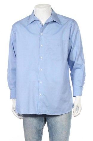 Ανδρικό πουκάμισο Walbusch, Μέγεθος L, Χρώμα Μπλέ, Βαμβάκι, Τιμή 8,18€