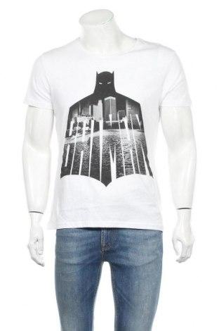 Ανδρικό t-shirt Batman, Μέγεθος M, Χρώμα Λευκό, Βαμβάκι, Τιμή 13,67€