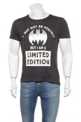 Ανδρικό t-shirt Batman, Μέγεθος M, Χρώμα Γκρί, Βαμβάκι, Τιμή 15,40€