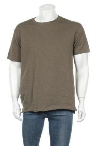 Мъжка тениска Lft, Размер M, Цвят Зелен, 70% памук, 30% полиестер, Цена 16,00лв.