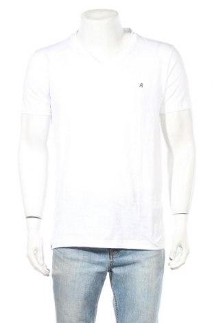 Мъжка тениска Replay, Размер L, Цвят Бял, Памук, Цена 19,80лв.